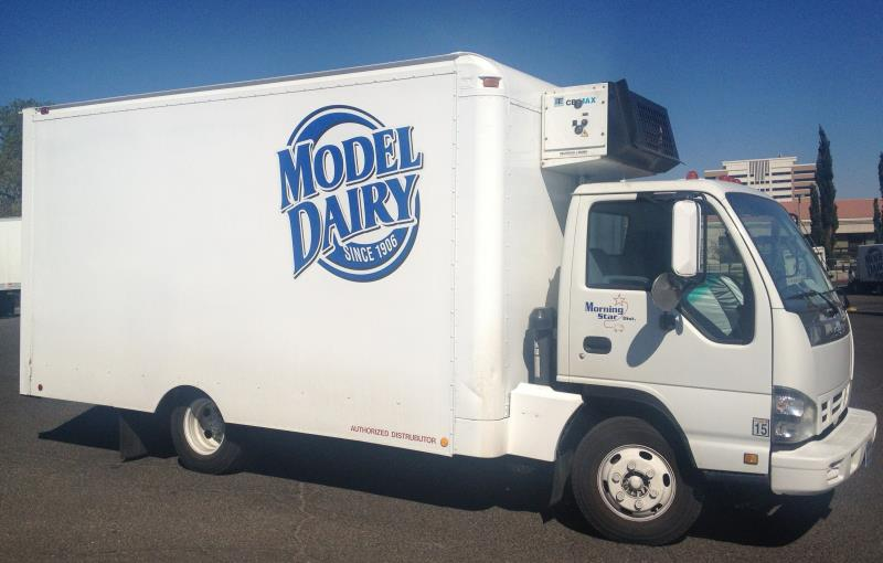 Model dairy home delivery